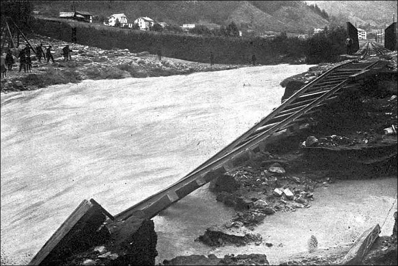 Luchsingen Flood 1910