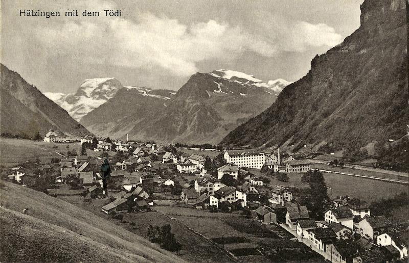 Hätzingen about 1920