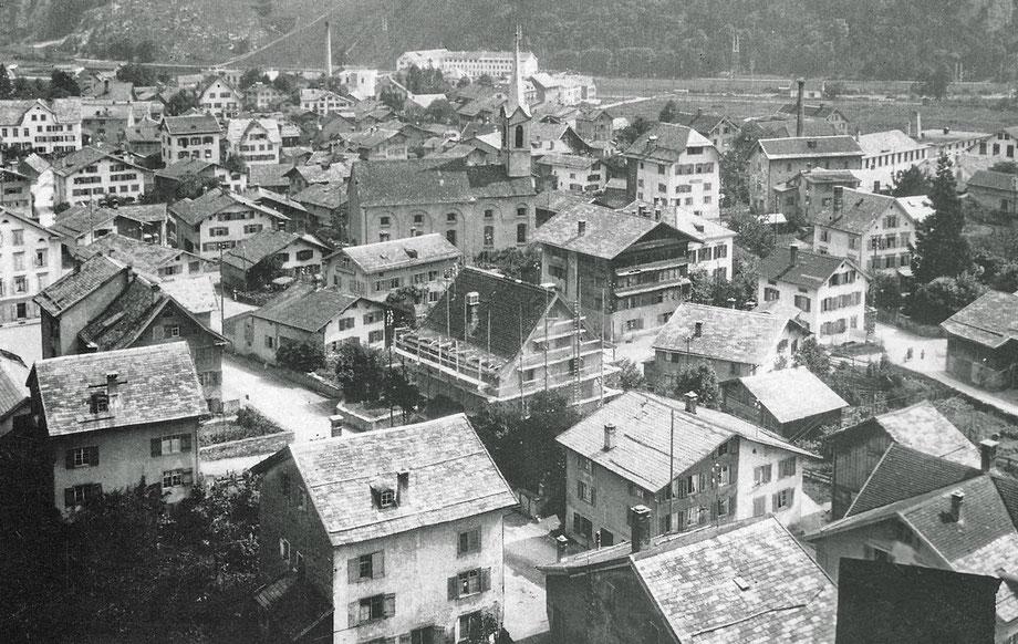 Netstal Mitteldorf 1921