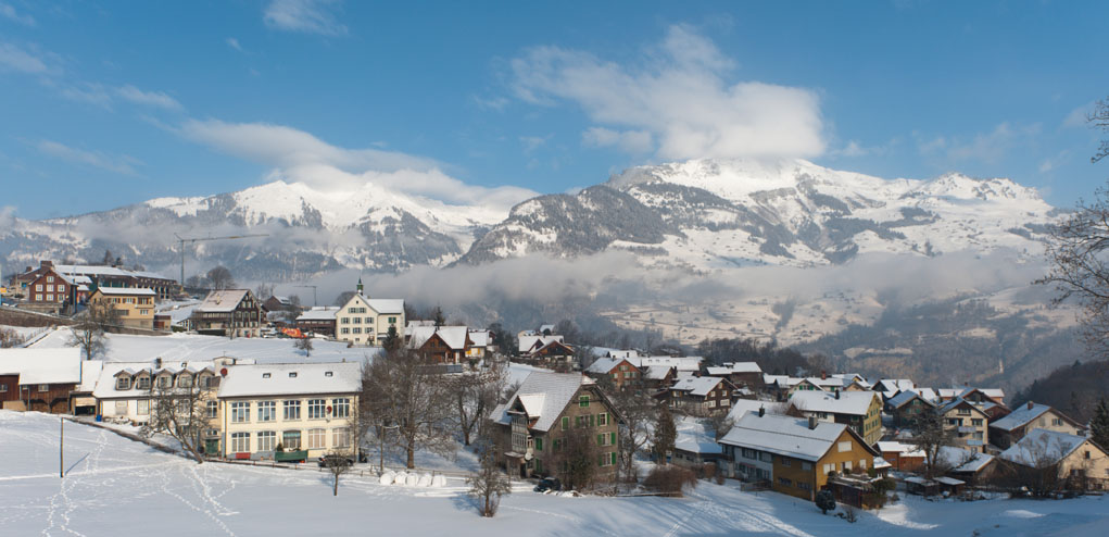 Filzbach in Winter