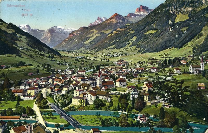 Schwanden about 1900