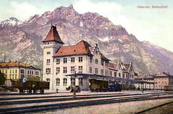 Glarus Bahnhof 1920