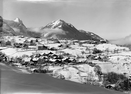 Filzbach in Winter about 1970