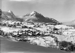 Filzbach in Winter about 1970