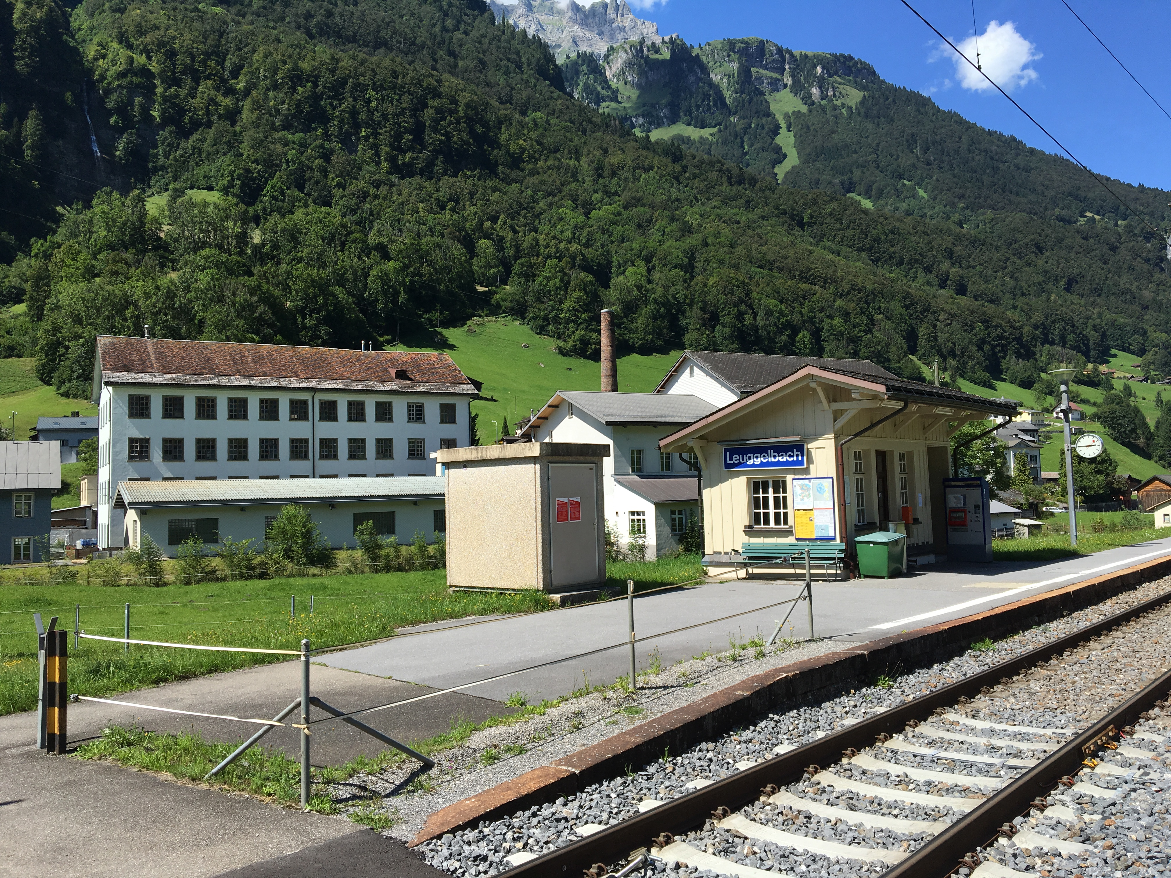Leuggelbach Railway Station