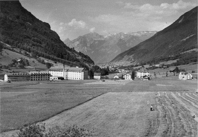 Rüti Cotlan Plant about 1950