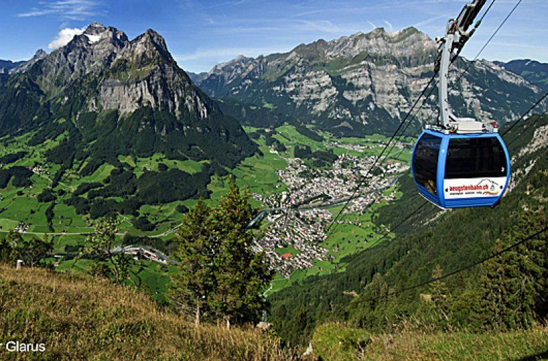 Augsten cable car Ennenda