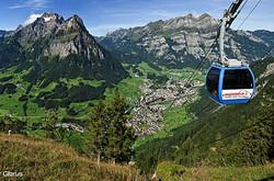 Augsten cable car Ennenda