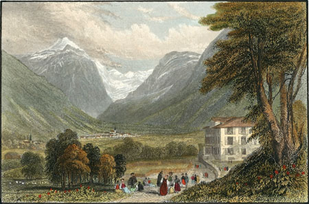 Bad Stachelberg about 1860