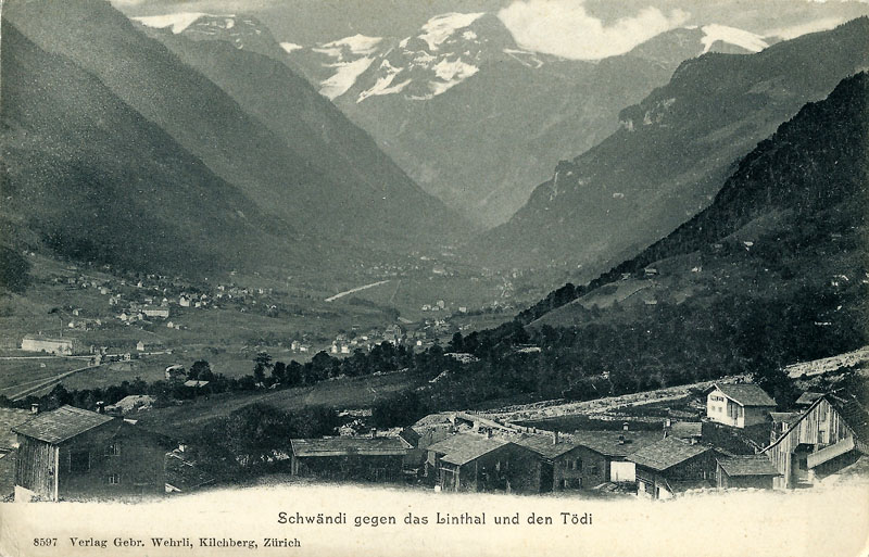 Schwändi about 1910
