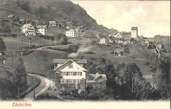 Obstalden ca. 1910