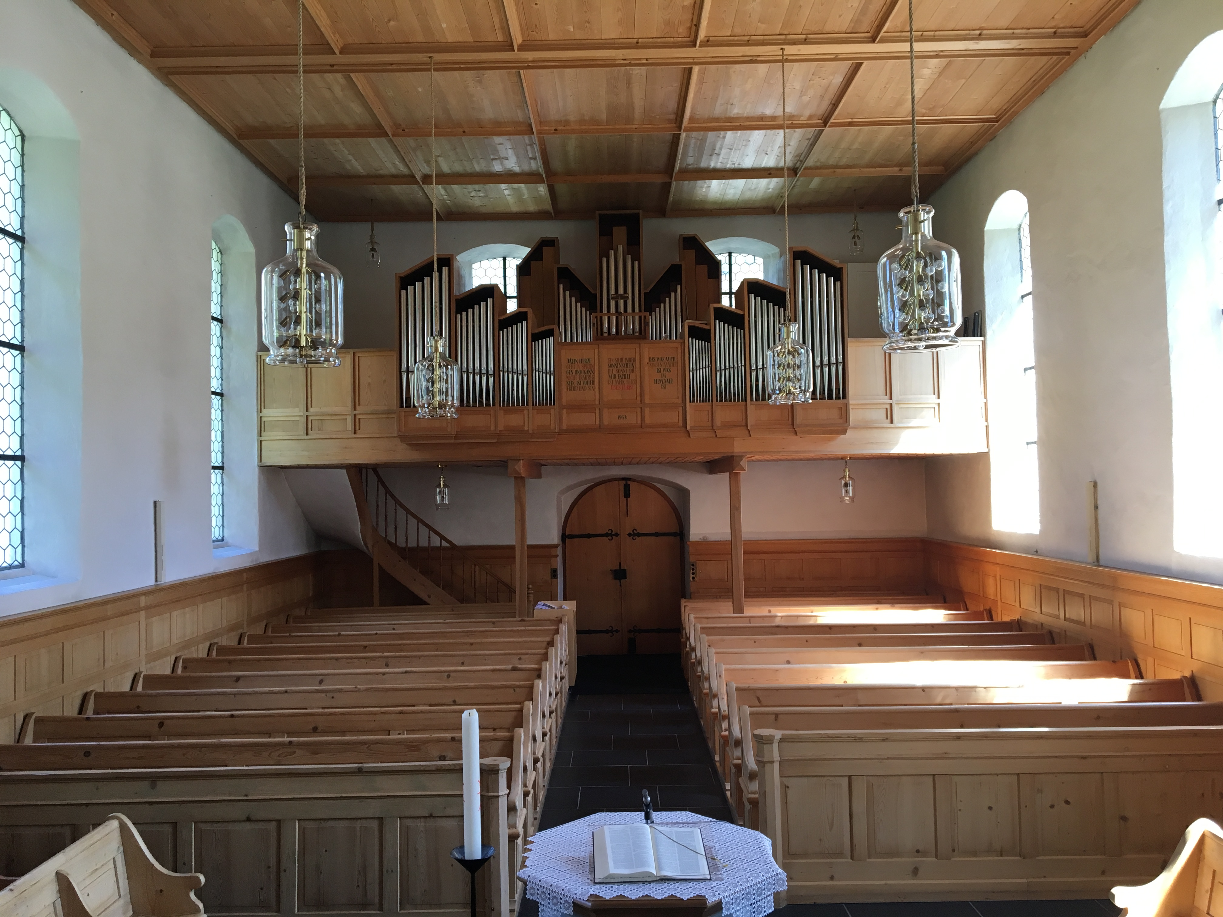 Luchsingen Church Organ