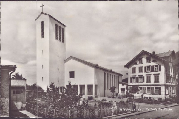Niederurnen Catholic Church about 1950