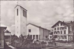 Niederurnen Catholic Church about 1950