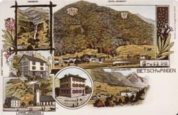 Betschwanden about 1890