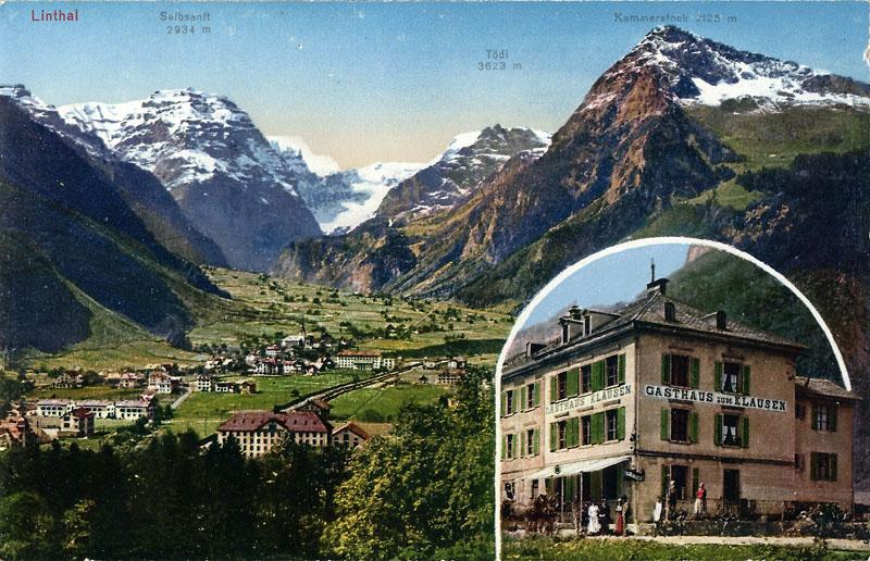 Linthal Guesthouse Klausen 1910