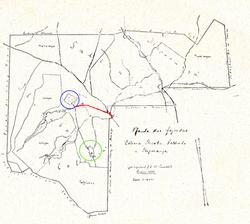 Mapa das fazendas Ibicaba 1875