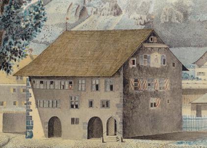 Glarus Altes Rathaus 1800