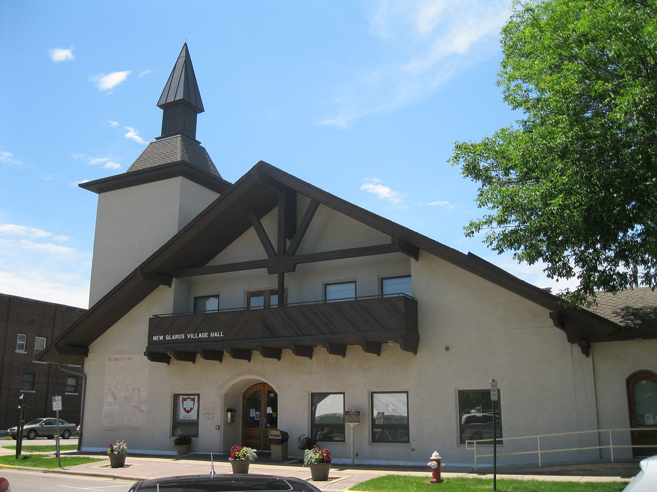 New Glarus Village Hall
