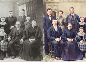 Colorize black-and-white photos with one click