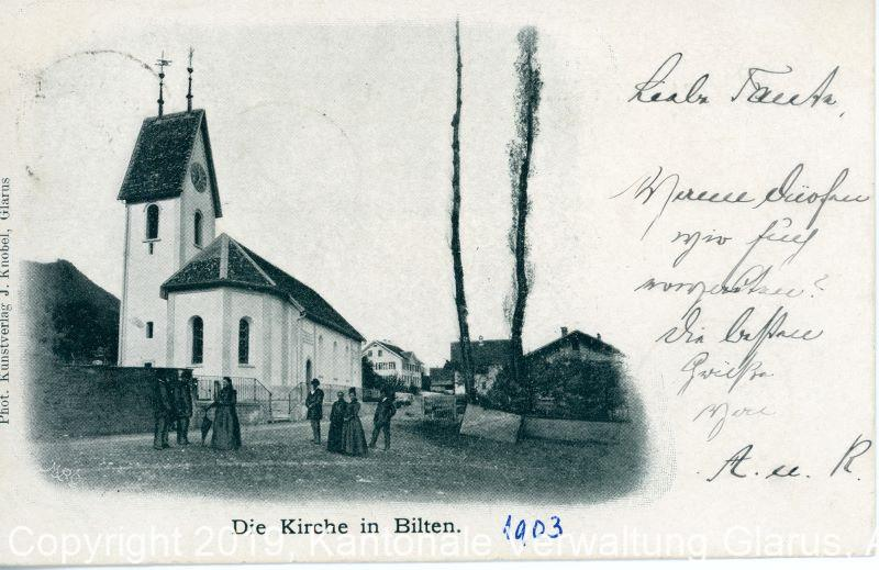 Church Bilten about 1900