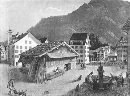 Glarus Ankenwaage