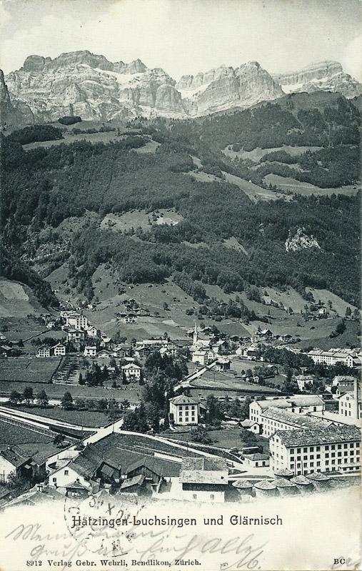 Hätzingen Luchsingen with Glärnisch