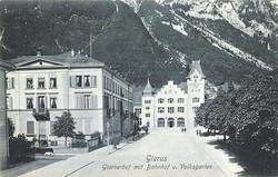 Glarus Glarnerhof with Bahnhof