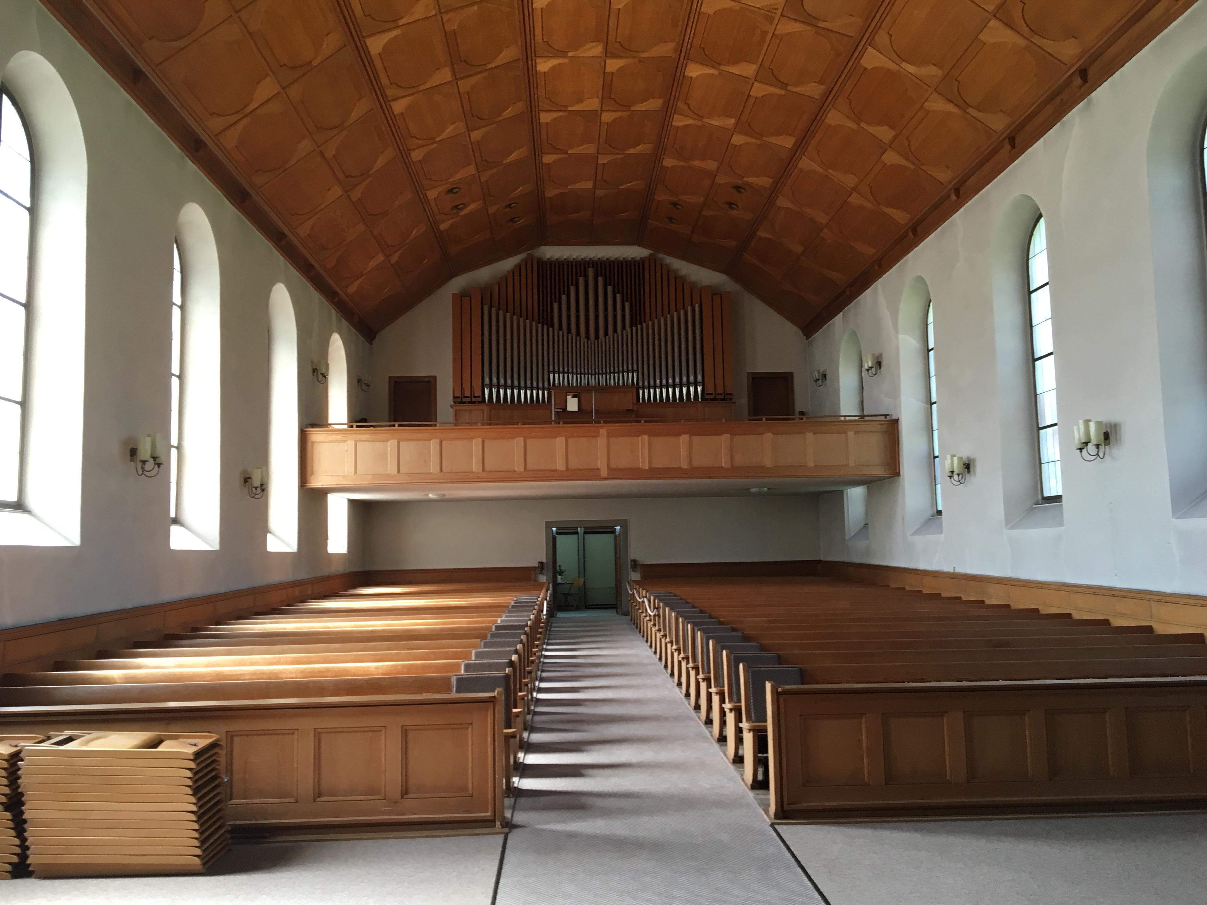 Church Schwanden Interior