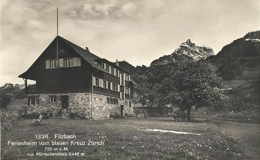 Filzbach Ferienheim Blaues Kreuz