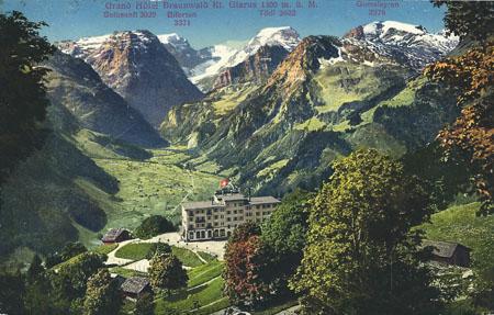 Grand Hotel Braunwald 1915