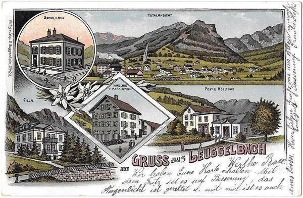 Leuggelbach about 1900