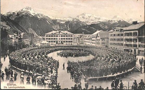 Glarus Landsgemeinde 1900 2