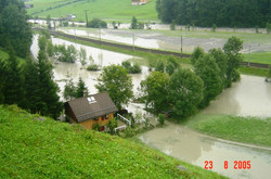 Leuggelbach Allmend Flooding