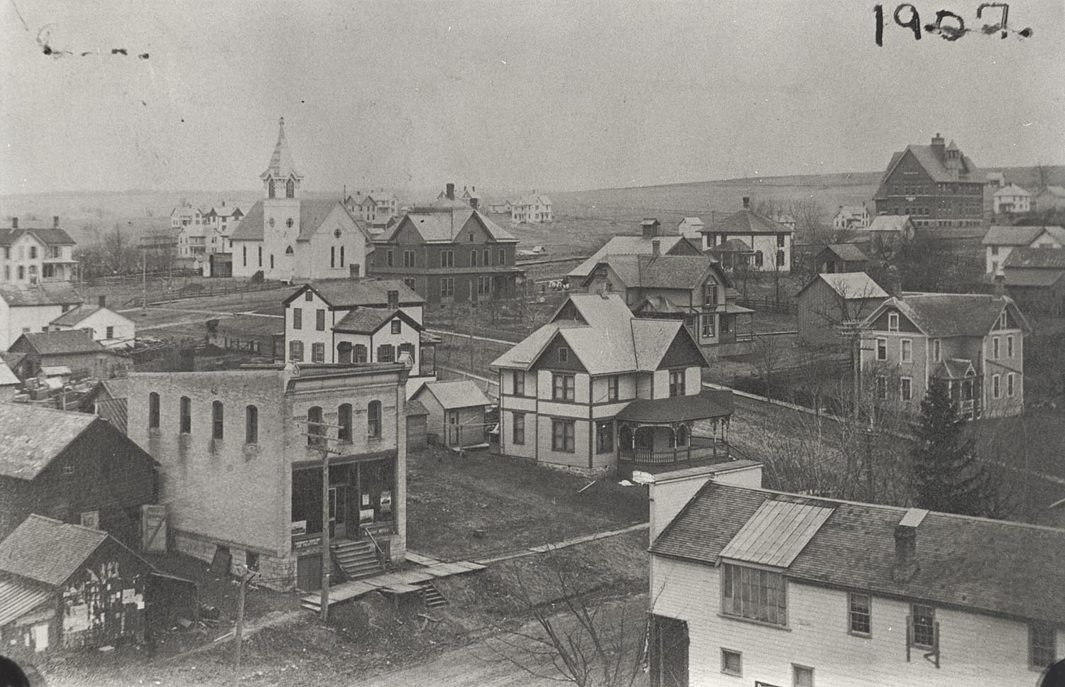 New Glarus View 1907