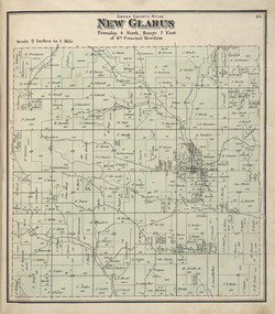 Map of New Glarus