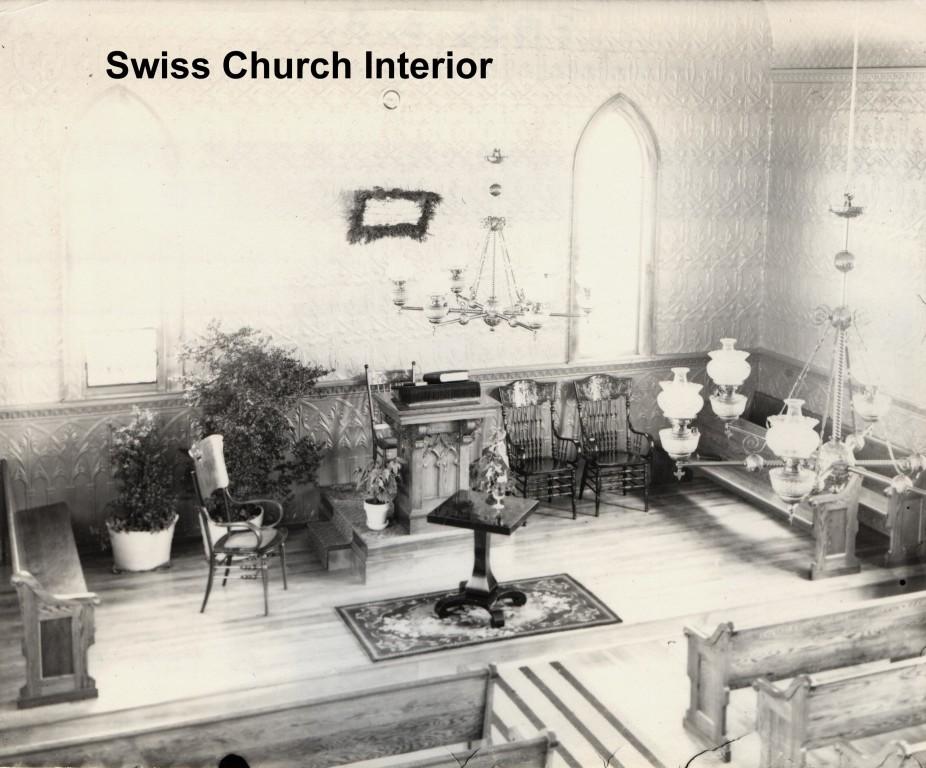 New Elm Swiss Church Interior