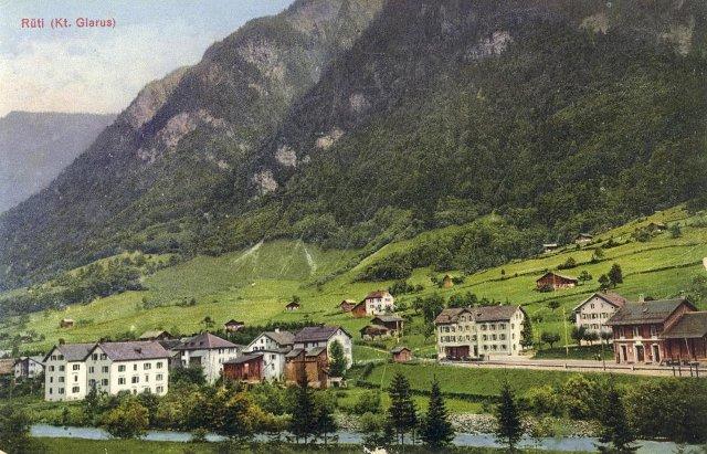 Rüti about 1920