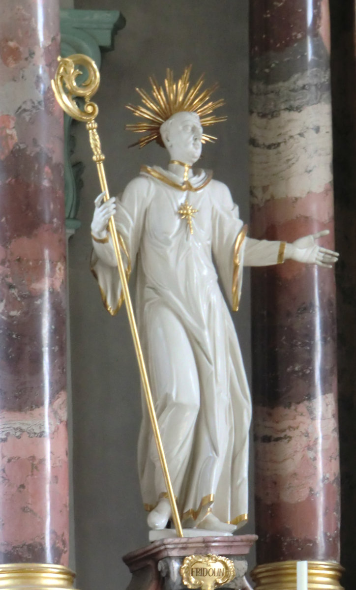 St Fridolin in the Church of Näfels