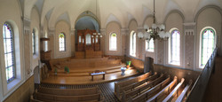 Linthal Protestant Church Interior