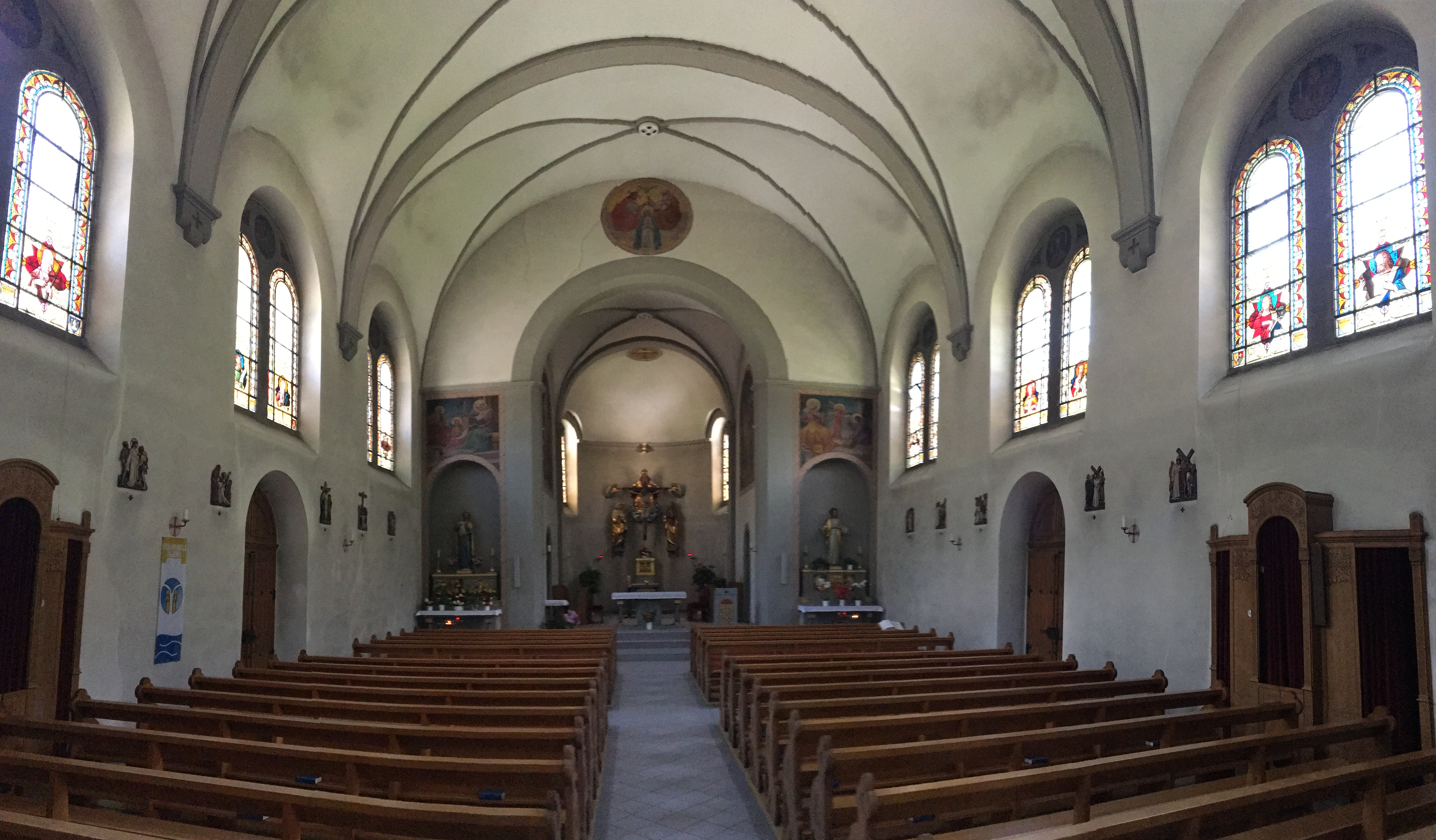 Linthal Catholic Church Interior