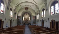 Linthal Catholic Church Interior