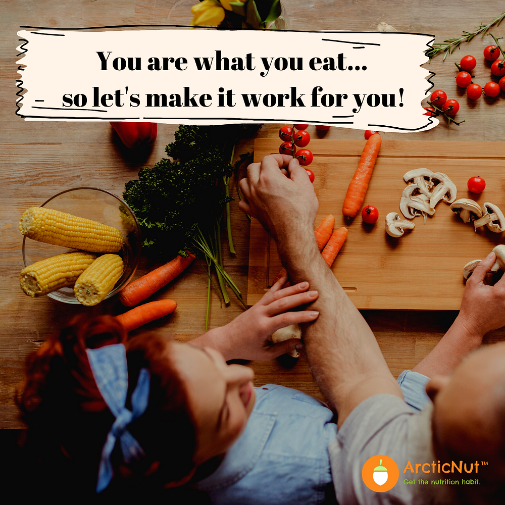 You are what you eat so let's make it work for you