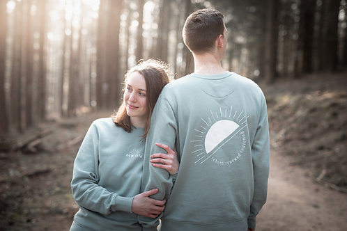 New Life Unisex Sweatshirt - Green