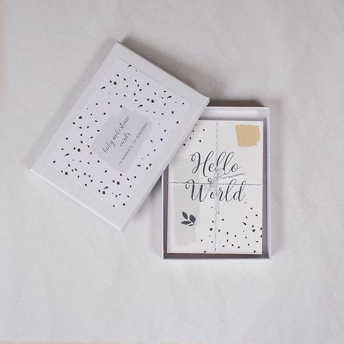 LYRA BABY MILESTONE CARDS (GREY)