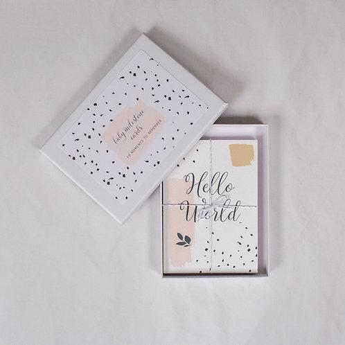 LYRA BABY MILESTONE CARDS (PINK)