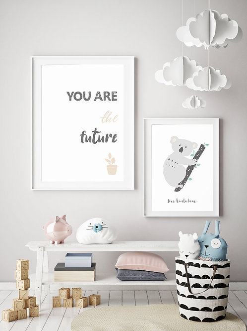 YOU ARE THE FUTURE PRINT (NEUTRAL)