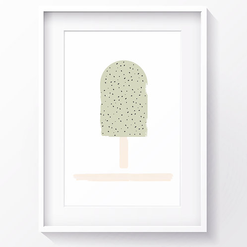 KIWI DREAMS ICE LOLLY PRINT