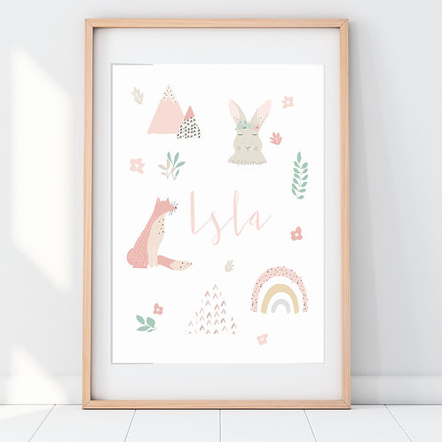FAVOURITE THINGS WOODLAND ANIMALS
