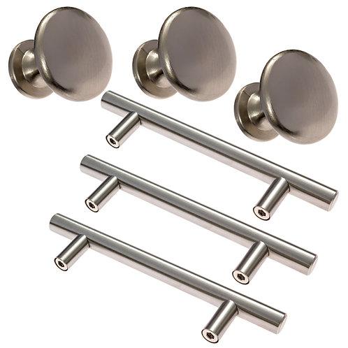 """25 pulls 3"""" spacing & 10 Solid knobs"""